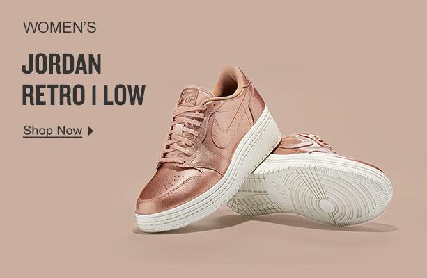 Women's Jordan Retro 1 Low. Shop Now.