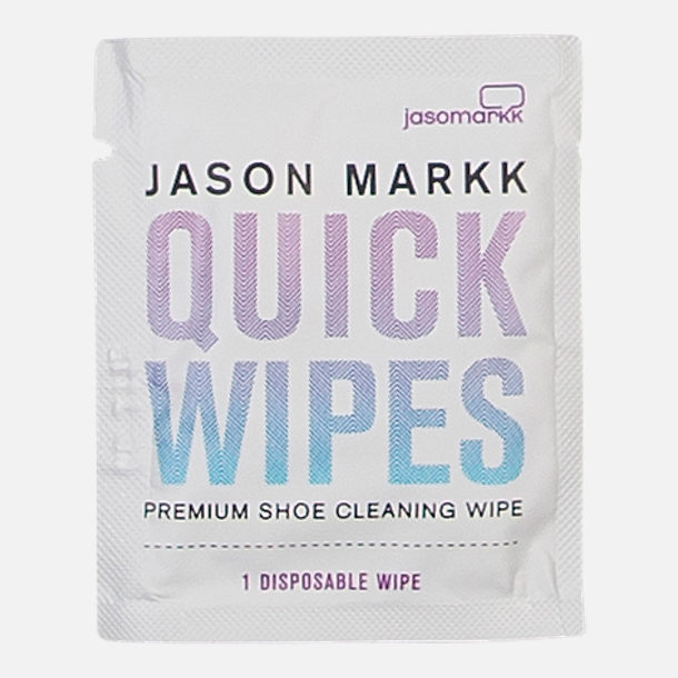 Back view of Jason Markk Premium Shoe Cleaner Quick Wipes - 30 Pack in NON