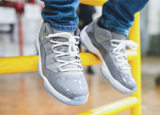 The Air Jordan Retro 11 Low Dons The 'Cool Grey' Colorway