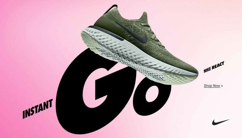 Nike Epic React. Shop Now.