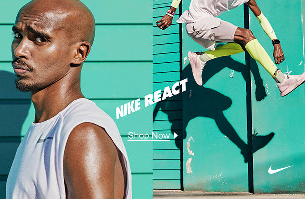 Nike Epic React. Shop Now.