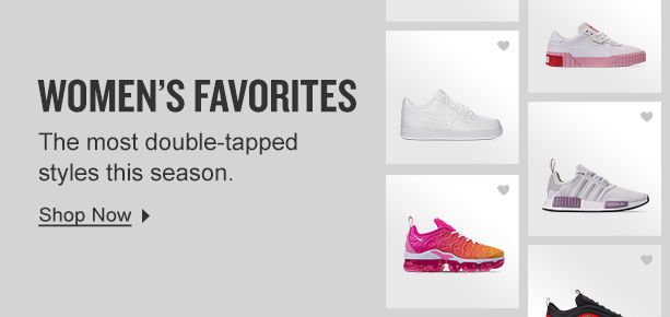 Women's Favorites banner