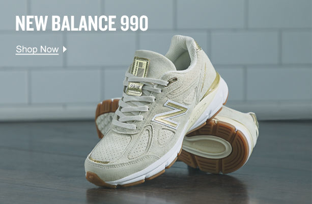 New Balance 990. Shop Now.