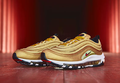 THE NIKE AIR MAX 97 OG 'METALLIC GOLD' RETURNS JUST IN TIME FOR SUMMER