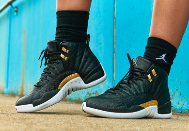 Midnight Black' Takes Over The Women's Air Jordan 12