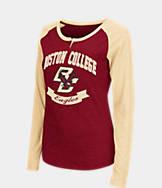 Women's Stadium Boston College Eagles College Long-Sleeve Healy Raglan T-Shirt