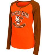 Women's Stadium Bowling Green Falcons College Long-Sleeve Healy Raglan T-Shirt