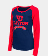 Women's Stadium Dayton Flyers College Long-Sleeve Healy Raglan T-Shirt