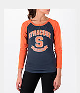 Women's Stadium Syracuse Orange College Long-Sleeve Healy Raglan T-Shirt