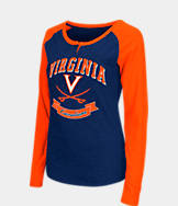 Women's Stadium Virginia Cavaliers College Long-Sleeve Healy Raglan T-Shirt
