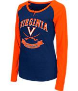 Women's Stadium Virginia Cavaliers College Long-Sleeve Healy Raglan T-Shirt