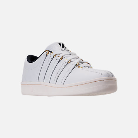 Three Quarter view of Men's K-Swiss Classic 88 x Carrots Casual Shoes in White/Black