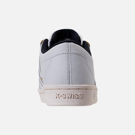 Back view of Men's K-Swiss Classic 88 x Carrots Casual Shoes in White/Black