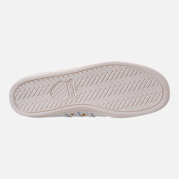 Bottom view of Men's K-Swiss Classic 88 x Carrots Casual Shoes in White/Black