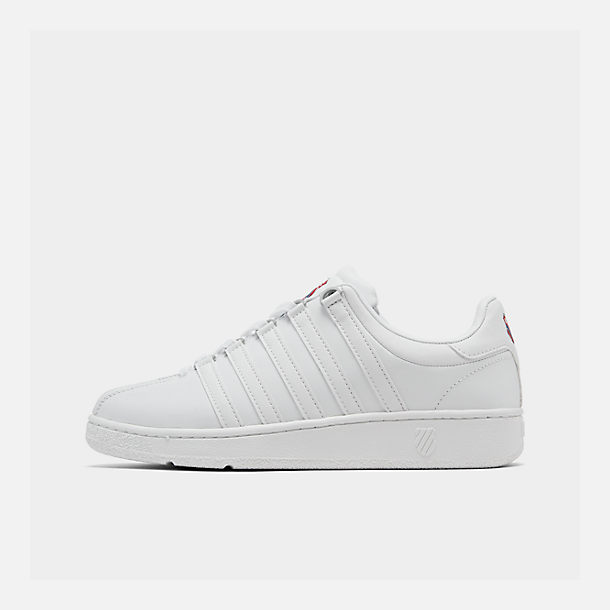 Right view of Men's K-Swiss Classic VN Casual Shoes in White