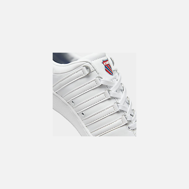 Front view of Men's K-Swiss Classic VN Casual Shoes in White