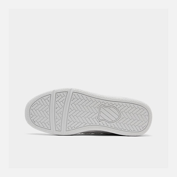 Bottom view of Men's K-Swiss Classic VN Casual Shoes in White