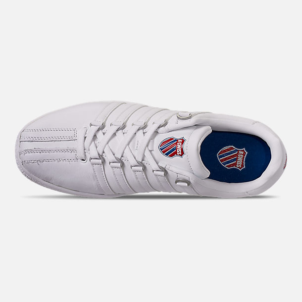 Top view of Men's K-Swiss Classic VN Casual Shoes in White