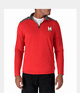 Men's Under Armour Maryland Terrapins College Charged Cotton Quarter-Zip Jacket
