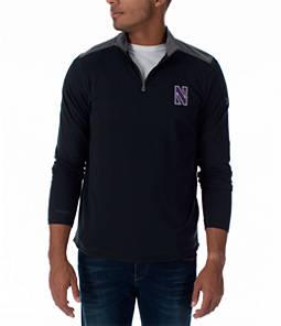 Men's Under Armour Northwestern Wildcats College Charged Cotton Quarter-Zip Jacket