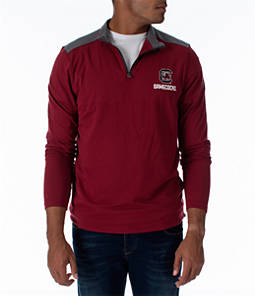 Men's Under Armour South Carolina Gamecocks College Charged Cotton Quarter-Zip Jacket