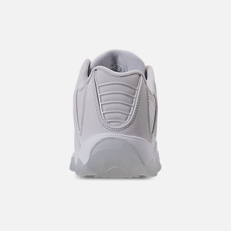 Back view of Men's K-Swiss ST329 Casual Shoes in Triple White