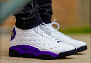 This Air Jordan Retro 13 is a Must-Have If You're a Lakers Fan