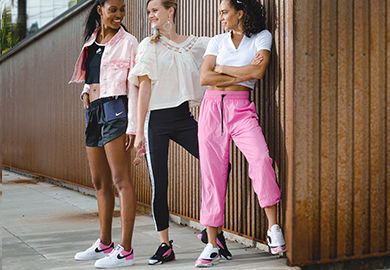#NikeNeedItNow: Sporty, Sweet and Chic with the China Rose Collection