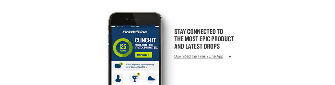 Download the Finish Line Winners Circle app