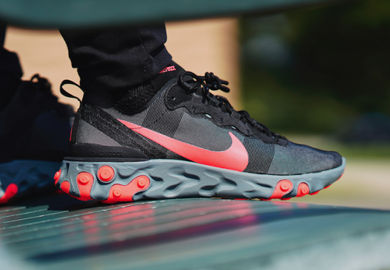 Nike Continues The React Line With The Nike Element React 55