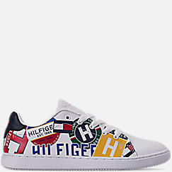 Boys' Big Kids' Tommy Hilfiger Iconic Court Casual Shoes