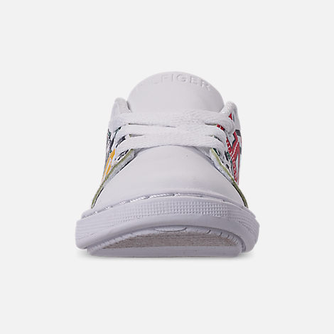 7d4493a7f Front view of Boys  Toddler Tommy Hilfiger Iconic Court Casual Shoes in  Multi Print