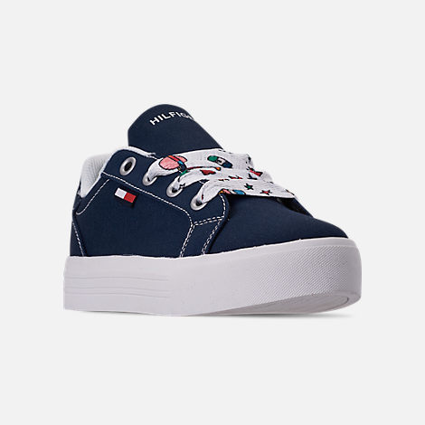 510f0e7e05d Three Quarter view of Girls  Big Kids  Tommy Hilfiger Pina Platform Casual  Shoe in