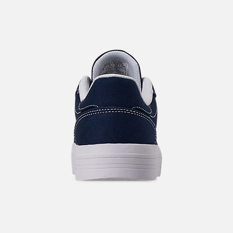 e5cbbcdffc2 Back view of Girls  Big Kids  Tommy Hilfiger Pina Platform Casual Shoe in  Navy