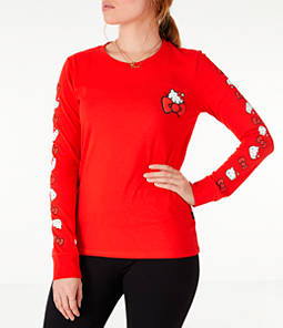 Women's Converse x Hello Kitty Long-Sleeve T-Shirt