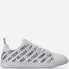 Boys' Little Kids' Tommy Hilfiger Iconic Court Logo Casual Shoes