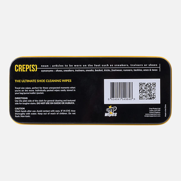 Alternate view of Crep Protect 12-Pack Crep Shoe Cleaning Wipes in None