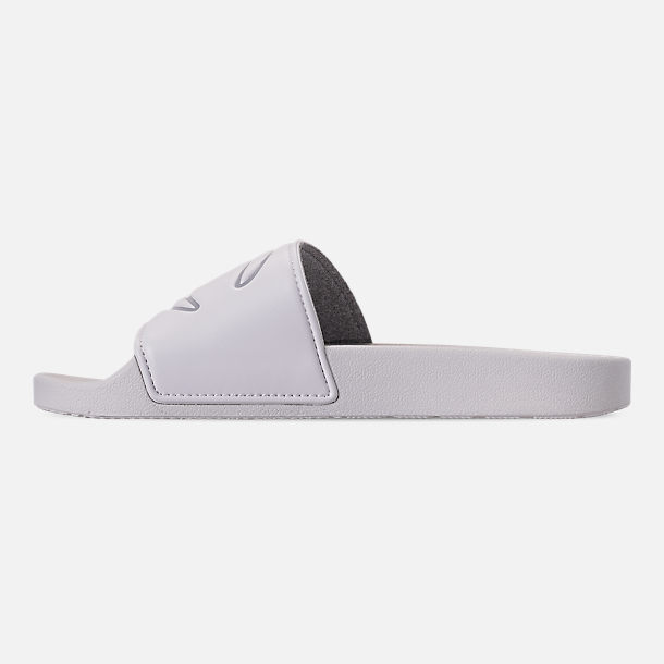 Left view of Women's Champion IPO Slide Sandals in White