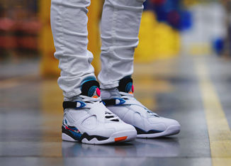 Tropical Vibes Takeover The Air Jordan Retro 8 'Turbo Green'