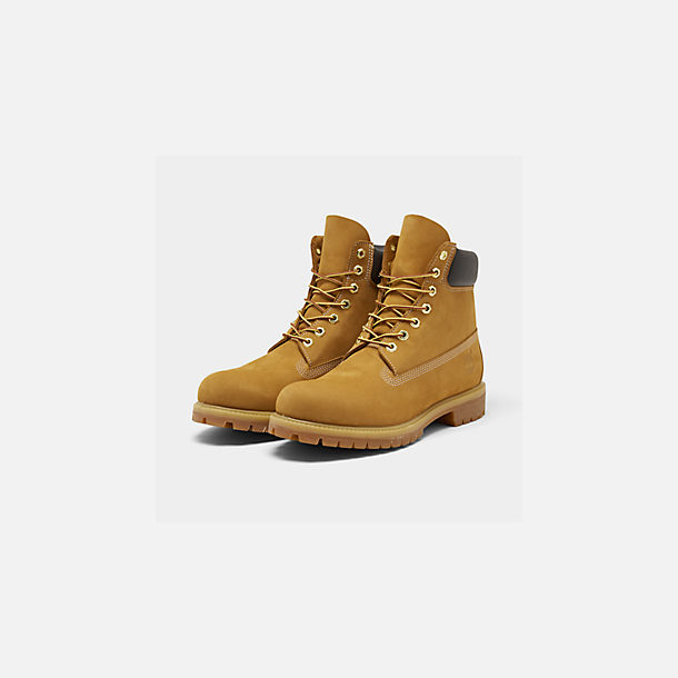 8dfb8412b88 Three Quarter view of Men s Timberland 6 Inch Premium Classic Boots in Wheat