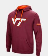 Men's Stadium Virginia Tech Hokies College Big Logo Hoodie
