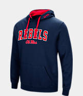 Men's Stadium Mississippi Rebels College Arch Hoodie