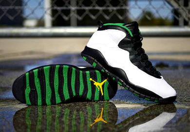 Back for the First Time Since '95, the Air Jordan 10 Retro 'Seattle'