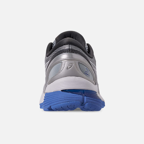 Back view of Women's Asics GEL-Nimbus 21 Running Shoes in Mid Grey/Dark Grey