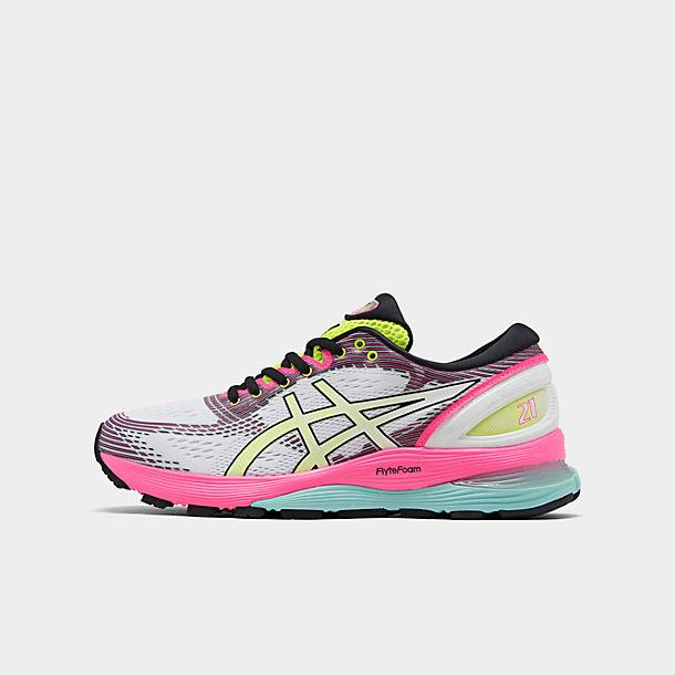 valtuutettu sivusto kenkäkauppa parhaat kengät Women's Asics GEL-Nimbus 21 Optimism Running Shoes