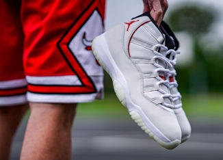 Take Your Rotation To The Next Level With The Air Jordan Retro 11 'Platinum Tint'