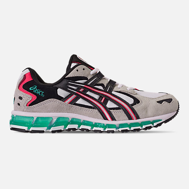 Right view of Men's Asics GEL-Kayano 5 360 Running Shoes in White/Cream/Multi