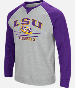 Men's Stadium LSU Tigers College Turf Fleece Crew Sweatshirt