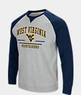 Men's Stadium West Virginia Mountaineers College Turf Fleece Crew Sweatshirt