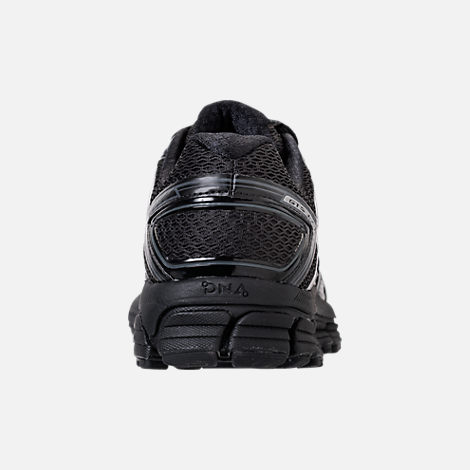 Back view of Men's Brooks Adrenaline GTS 17 Running Shoes in Black/Black/Anthracite